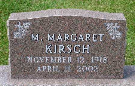 KIRSCH, M. MARGARET - Black Hawk County, Iowa | M. MARGARET KIRSCH