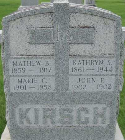 KIRSCH, MARIE C. - Black Hawk County, Iowa | MARIE C. KIRSCH
