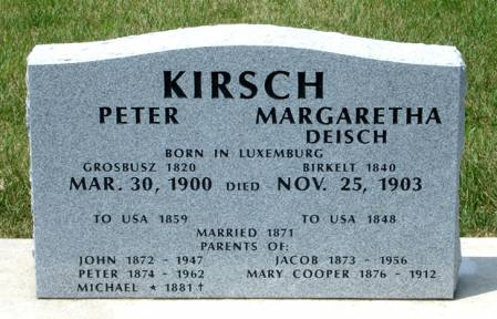 KIRSCH, MARGARETHA - Black Hawk County, Iowa | MARGARETHA KIRSCH
