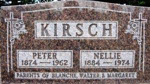 KIRSCH, NELLIE - Black Hawk County, Iowa | NELLIE KIRSCH