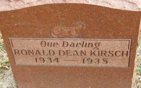 KIRSCH, RONALD DEAN - Black Hawk County, Iowa   RONALD DEAN KIRSCH