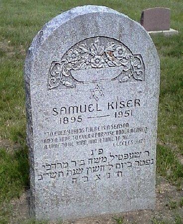 KISER, SAMUEL - Black Hawk County, Iowa   SAMUEL KISER