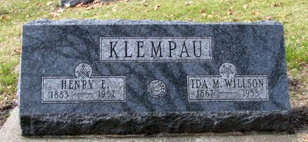 KLEMPAU, HENRY E. - Black Hawk County, Iowa   HENRY E. KLEMPAU