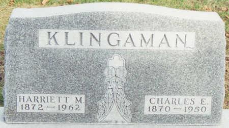 KLINGAMAN, CHARLES E. - Black Hawk County, Iowa | CHARLES E. KLINGAMAN