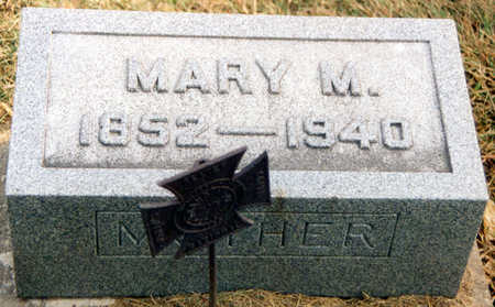 CAIN KLINGAMAN, MARY MARTHA - Black Hawk County, Iowa   MARY MARTHA CAIN KLINGAMAN