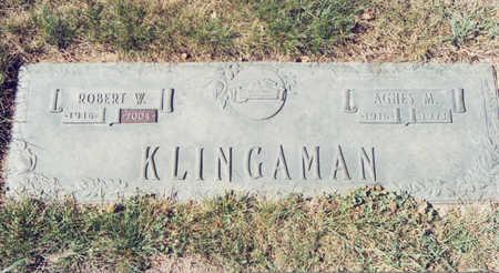 MYERS KLINGAMAN, AGNES M. - Black Hawk County, Iowa | AGNES M. MYERS KLINGAMAN