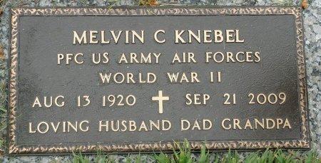 KNEBEL, MELVIN C. - Black Hawk County, Iowa | MELVIN C. KNEBEL