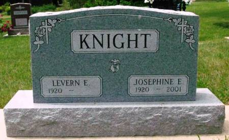 BLACKBURN KNIGHT, JOSEPHINE ESTHER - Black Hawk County, Iowa   JOSEPHINE ESTHER BLACKBURN KNIGHT
