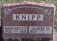 KNIPP, MARGARET F. - Black Hawk County, Iowa | MARGARET F. KNIPP