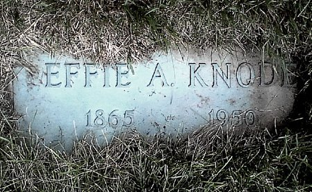KNODE, EFFIE A. - Black Hawk County, Iowa | EFFIE A. KNODE
