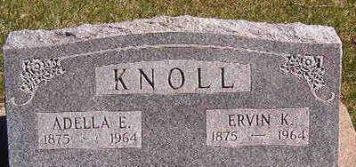 KNOLL, ERVIN K. - Black Hawk County, Iowa | ERVIN K. KNOLL