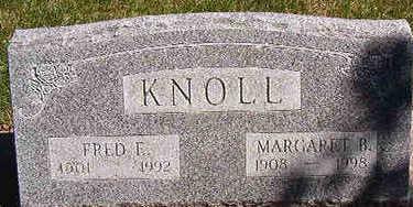 KNOLL, FRED F. - Black Hawk County, Iowa | FRED F. KNOLL