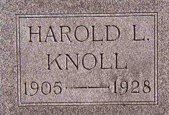 KNOLL, HAROLD L. - Black Hawk County, Iowa | HAROLD L. KNOLL
