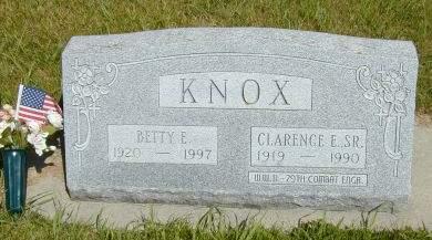 KNOX, BETTY EILEEN - Black Hawk County, Iowa | BETTY EILEEN KNOX