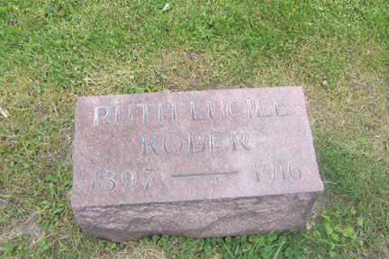 KOBER, RUTH LUCILE - Black Hawk County, Iowa | RUTH LUCILE KOBER