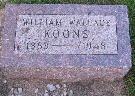 KOONS, WILLIAM WALLACE - Black Hawk County, Iowa | WILLIAM WALLACE KOONS
