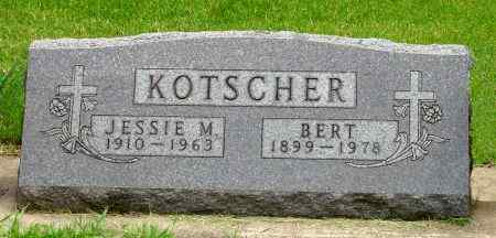 KOTSCHER, BERT - Black Hawk County, Iowa | BERT KOTSCHER