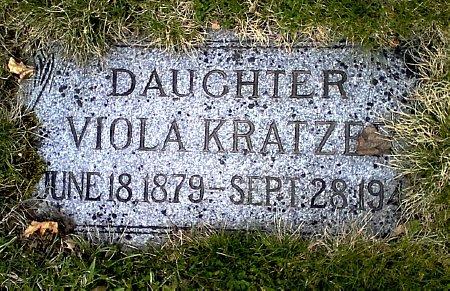 KRATZER, VIOLA - Black Hawk County, Iowa | VIOLA KRATZER