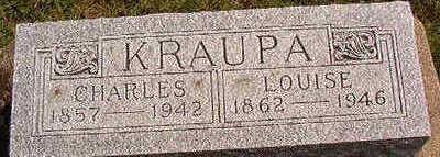 KRAUPA, LOUISE - Black Hawk County, Iowa | LOUISE KRAUPA