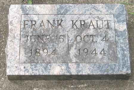 KRAUT, FRANK - Black Hawk County, Iowa | FRANK KRAUT