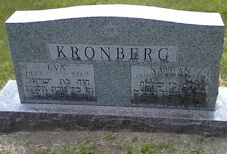 KRONBERG, EVA - Black Hawk County, Iowa | EVA KRONBERG