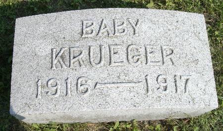 KRUEGER, BABY - Black Hawk County, Iowa | BABY KRUEGER