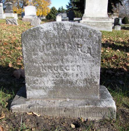 KRUEGER, LUDWIG R.A. - Black Hawk County, Iowa | LUDWIG R.A. KRUEGER