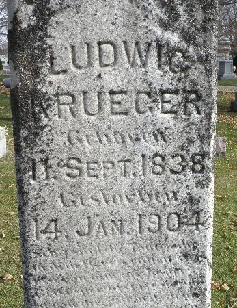 KRUEGER, LUDWIG - Black Hawk County, Iowa | LUDWIG KRUEGER