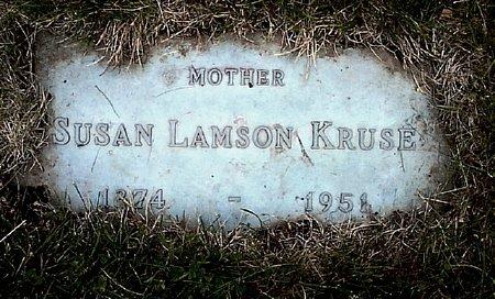 LAMSON KRUSE, SUSAN - Black Hawk County, Iowa | SUSAN LAMSON KRUSE