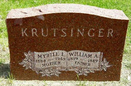 KRUTSINGER, WILLIAM A. - Black Hawk County, Iowa | WILLIAM A. KRUTSINGER