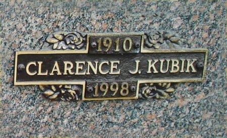 KUBIK, CLARENCE JOSEPH - Black Hawk County, Iowa | CLARENCE JOSEPH KUBIK