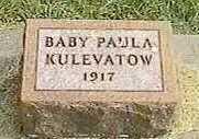 KULEVATOW, PAULA - Black Hawk County, Iowa   PAULA KULEVATOW