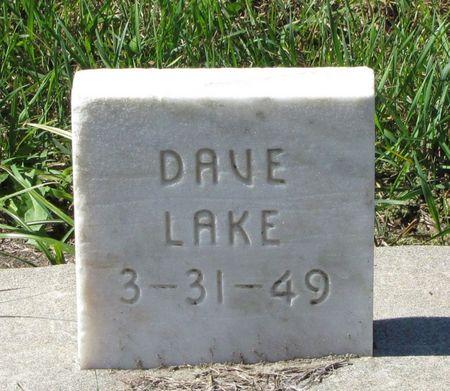 LAKE, DAVE - Black Hawk County, Iowa | DAVE LAKE