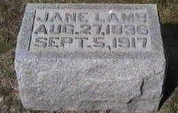 LAMB, JANE - Black Hawk County, Iowa | JANE LAMB