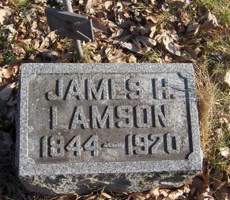 LAMSON, JAMES H. - Black Hawk County, Iowa | JAMES H. LAMSON