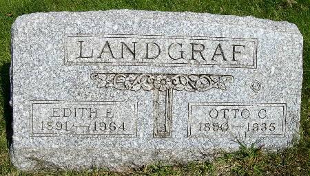 LANDGRAF, OTTO C. - Black Hawk County, Iowa | OTTO C. LANDGRAF