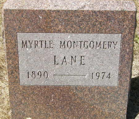 MONTGOMERY LANE, MYRTLE - Black Hawk County, Iowa | MYRTLE MONTGOMERY LANE