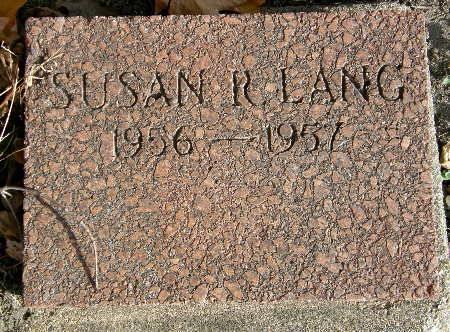 LANG, SUSAN R. - Black Hawk County, Iowa | SUSAN R. LANG