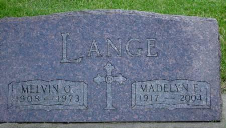 LANGE, MADELYN F. - Black Hawk County, Iowa | MADELYN F. LANGE