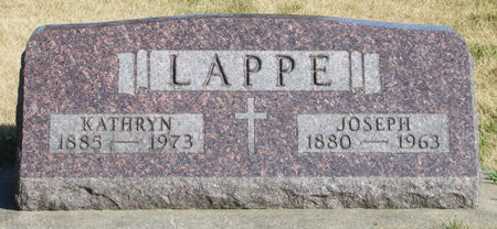 LAPPE, JOSEPH - Black Hawk County, Iowa | JOSEPH LAPPE