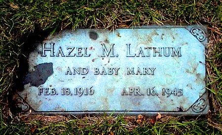 LATHUM, HAZEL M. - Black Hawk County, Iowa | HAZEL M. LATHUM