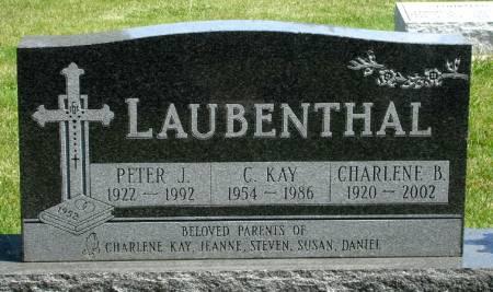 LAUBENTHAL, C. KAY - Black Hawk County, Iowa | C. KAY LAUBENTHAL