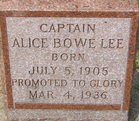 BOWE LEE, ALICE - Black Hawk County, Iowa | ALICE BOWE LEE