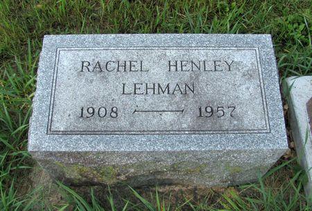LEHMAN, RACHEL - Black Hawk County, Iowa | RACHEL LEHMAN