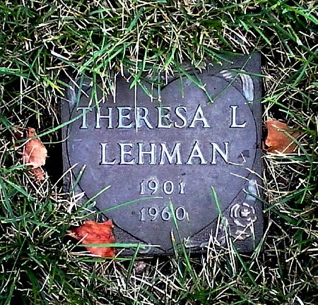 LEHMAN, THERESA L. - Black Hawk County, Iowa | THERESA L. LEHMAN