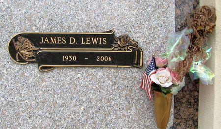 LEWIS, JAMES D. - Black Hawk County, Iowa   JAMES D. LEWIS