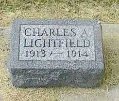 LIGHTFIELD, CHARLES A. - Black Hawk County, Iowa | CHARLES A. LIGHTFIELD