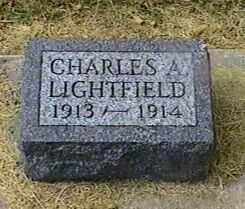 LIGHTFIELD, CHARLES A. - Black Hawk County, Iowa | CHARLES A. LIGHTFIELD