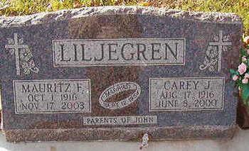 LILJEGREN, CAREY J. - Black Hawk County, Iowa   CAREY J. LILJEGREN