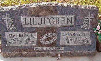 LILJEGREN, MAURITZ F. - Black Hawk County, Iowa | MAURITZ F. LILJEGREN